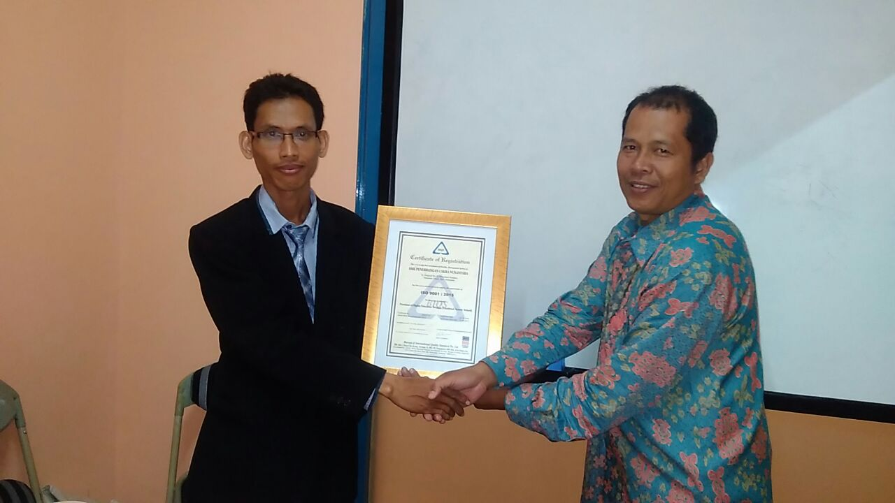 ISO 9001:2015 CERTIFICATION STANDARD INDONESIA